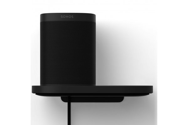 Large image of Sonos Black Shelf For One And Play:1 (Each) - S1SHFWW1BLK