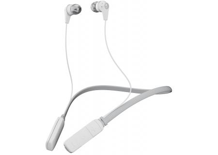 Skullcandy Inkd White/Gray In-Ear Wireless Headphones - S2IKW-J573