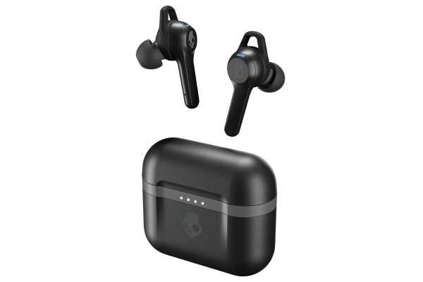 Large image of Skullcandy Indy Evo True Wireless Black Earbuds - S2IVW-N740