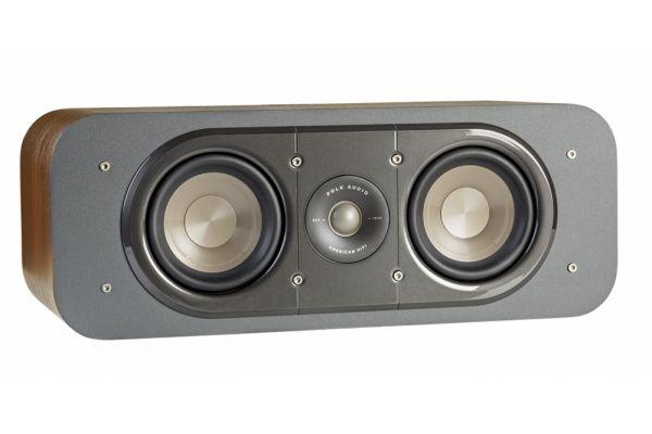 Large image of Polk Audio Signature Series S30 American HiFi Home Theater Classic Brown Walnut Center Speaker - AM9636