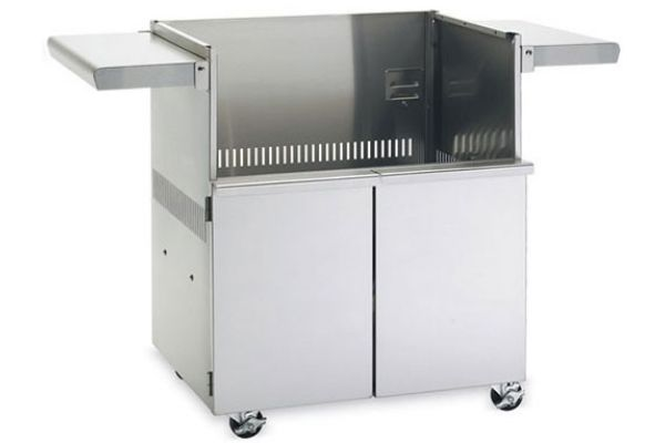 """Large image of Lynx Sedona 42"""" Stainless Steel Grill Cart - S42CART"""