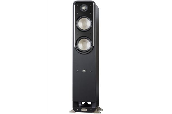 Large image of Polk Audio Signature S55 American HiFi Home Theater Black Tower Speaker (Each) - AM9531-A