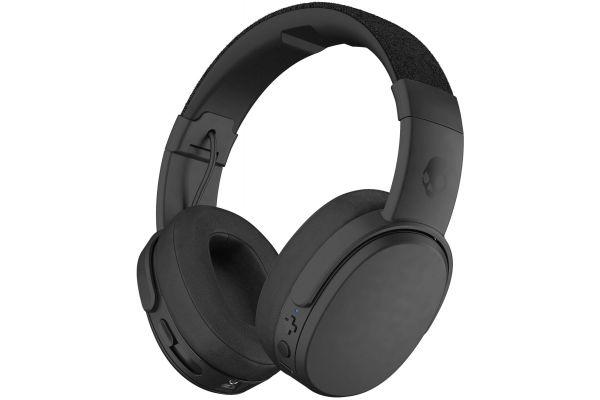 Large image of Skullcandy Crusher Black Over-Ear Wireless Headphones - S6CRW-K591