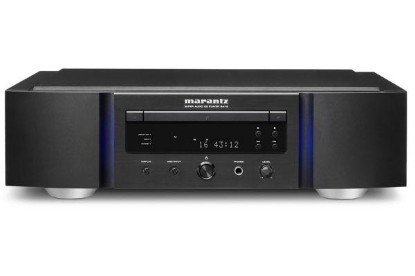 Large image of Marantz Reference Series Black Super Audio CD Player - SA-10S1