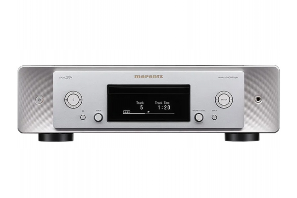 Large image of Marantz Silver Gold Networked SACD/CD Player With HEOS Built-In - SACD30NSG