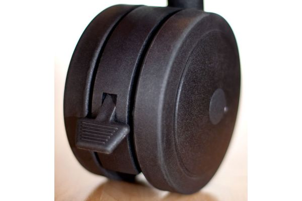 Large image of Salamander Designs Black Heavy Duty Casters - SA/HDC/4