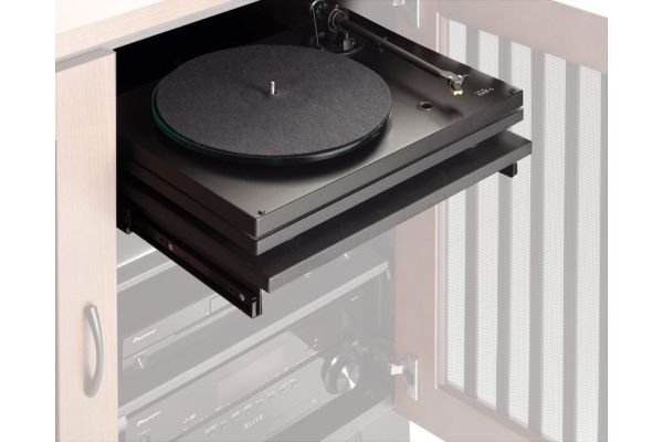 Large image of Salamander Designs Black Heavy Duty Pull-Out Shelf - SAPS2