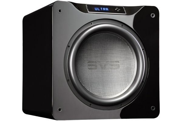 "Large image of SVS 16"" Ultra Series Piano Gloss Black Subwoofer - SB16-ULTRA-PIANO-GLOSS"
