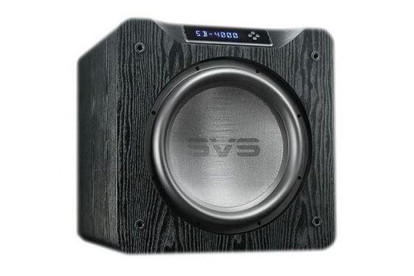 """Large image of SVS 13.5"""" 4000 Series Black Ash Subwoofer - SB4000BLACKASH"""
