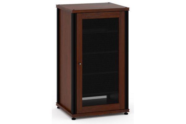 Large image of Salamander Designs Dark Walnut Synergy AV Cabinet - SB402W/B