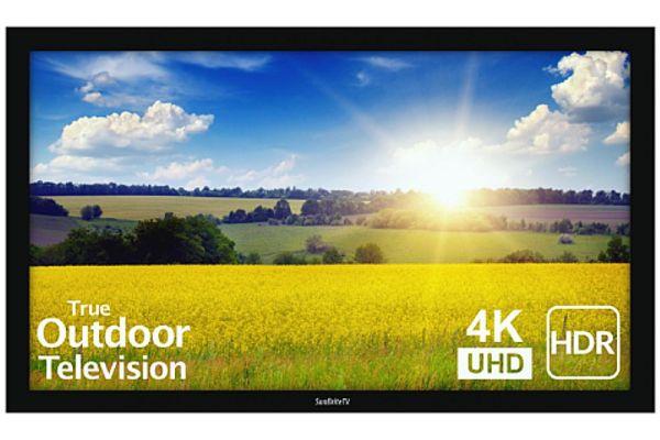 "Large image of SunBriteTV 49"" Black Pro 2 Series 4K UHD Full Sun Outdoor TV - SB-P2-49-4K-BL"