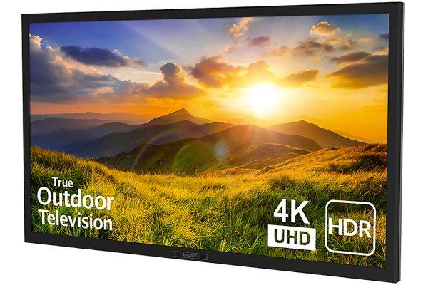 "SunBriteTV 43"" Black Signature 2 Series 4K Ultra HDR Partial Sun Outdoor HDTV - SB-S2-43-4K-BL"