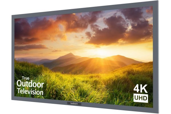 "SunBriteTV 55"" Silver Signature Outdoor 4K LED TV - SB-S-55-4K-SL"