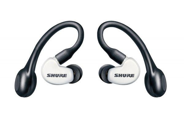 Shure AONIC 215 White True Wireless Sound Isolating In-Ear Headphones - SE215SPE-W-TW1