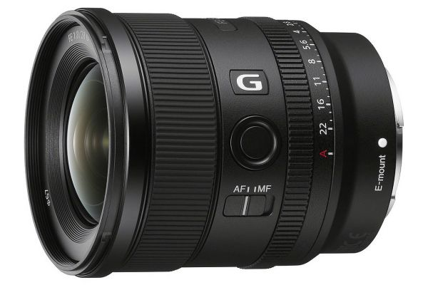 Large image of Sony FE 20 mm F1.8 G Lens - SEL20F18G