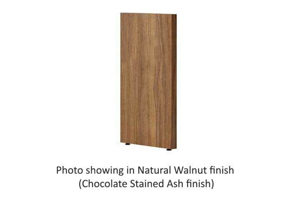 Large image of BDI Semblance 15023 Chocolate Stained Walnut Low End Panel - 15023 CWL