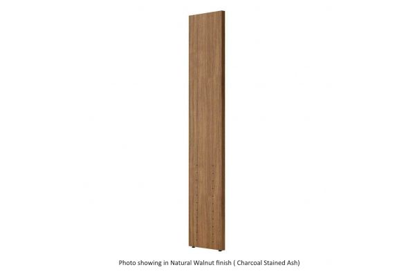 Large image of BDI Semblance 15026 Charcoal Stained Ash Tall Transitional Panel - 15026 CRL