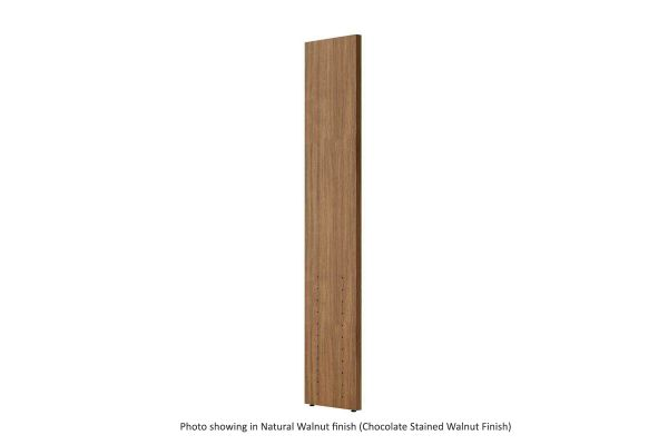 Large image of BDI Semblance 15026 Chocolate Stained Walnut Tall Transitional Panel - 15026 CWL