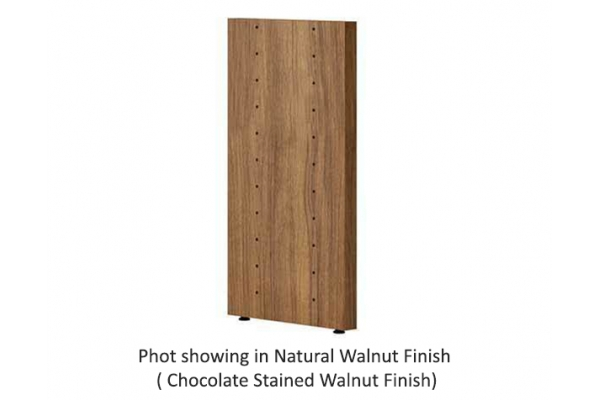 Large image of BDI Semblance 15028 Chocolate Stained Walnut Low Divider Panel - 15028 CWL