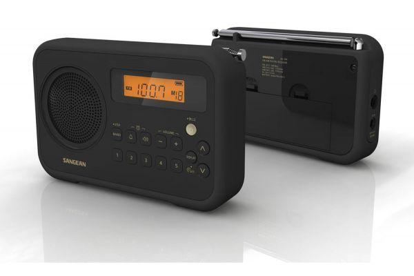 Large image of Sangean Black Portable Digital Radio - SG-104