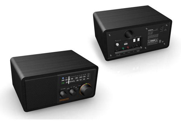 Large image of Sangean Black AM/FM Bluetooth Radio - SG-118