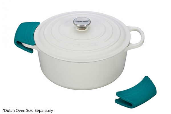Large image of Le Creuset Caribbean Silicone Handle Grips Set - SG100-17