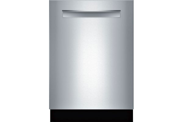 """Large image of Bosch 24"""" 500 Series DLX Stainless Steel Pocket Handle Dishwasher - SHP865ZD5N"""