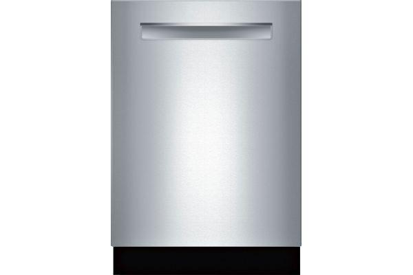 "Large image of Bosch 24"" 800 Series Stainless Steel Pocket Handle Dishwasher - SHPM88Z75N"