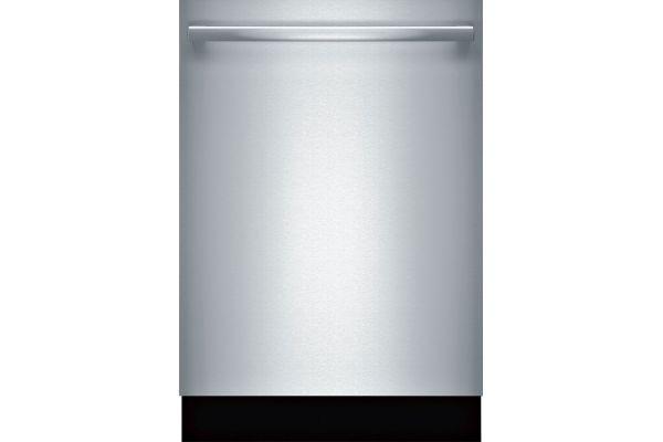 "Large image of Bosch 500 Series 24"" Stainless Steel Bar Handle Dishwasher - SHXM65Z55N"
