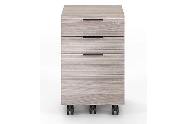 Large image of BDI Sigma 6907 Strata Mobile File Cabinet - SIGMA-6907-STR
