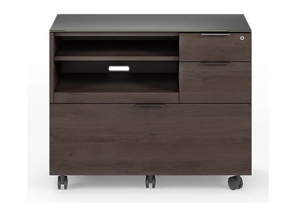 Large image of BDI Sigma 6917 Sepia Multifunction Cabinet - 6917-SPA