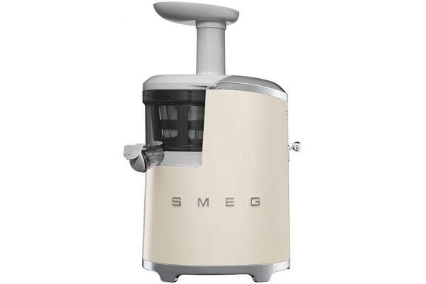 Smeg 50s Retro Style Cream Slow Juicer - SJF01CRUS
