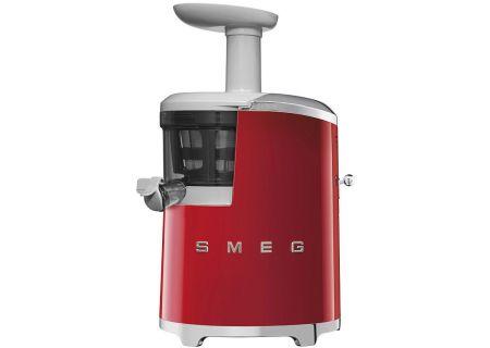 Smeg 50s Retro Style Red Slow Juicer - SJF01RDUS