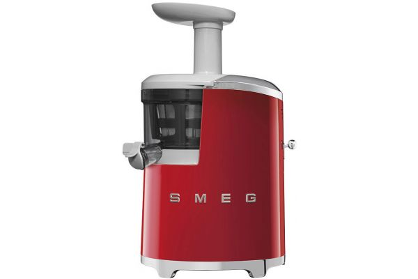 Smeg 50s Retro Style Red Slow Juicer - SJF01RDUS