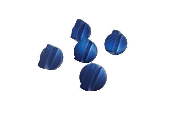 Large image of Thermador Metallic Blue Knob Kit - SKNOBLUW