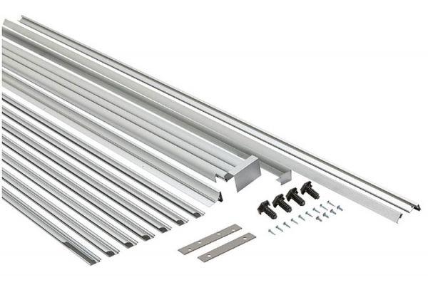 Large image of Whirlpool Stainless Steel Sidekick Trim Kit - SKT60M
