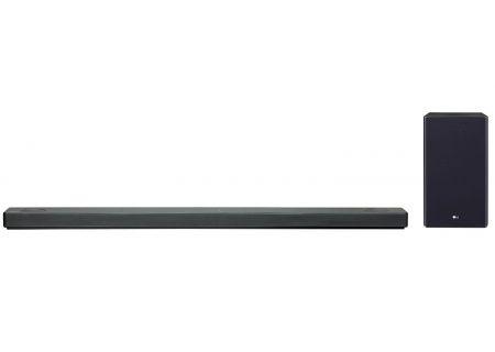 LG Black 5.1.2 Channel Sound Bar With Meridian Technology & Dolby Atmos - SL10YG