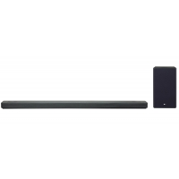 LG Black 5.1.2 Channel Sound Bar With Meridian Technology & Dolby Atmos