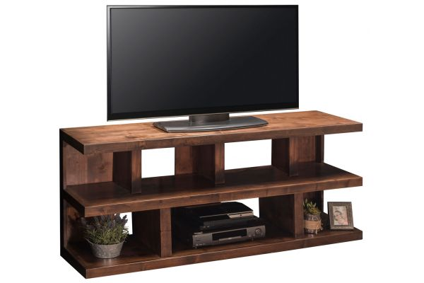 """Large image of Legends Furniture 64"""" Whiskey Sausalito TV Console - SL1230-WKY"""