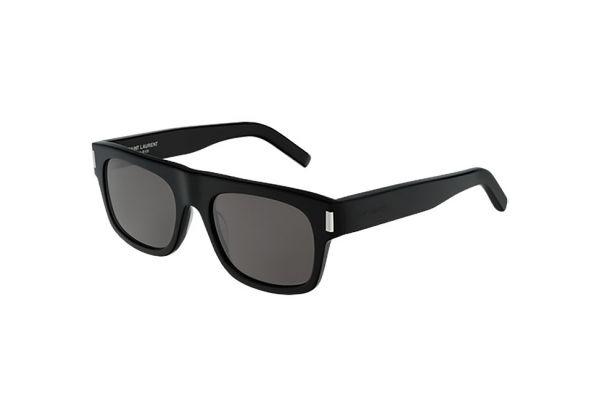Large image of Saint Laurent Black Square Unisex Sunglasses - SL 293-001 52