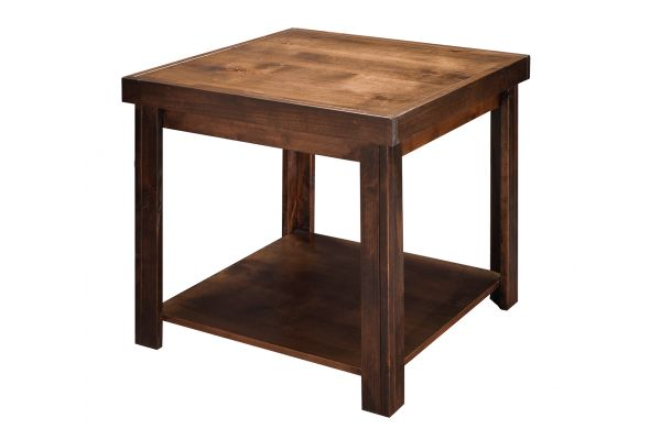 Large image of Legends Furniture Sausalito Whiskey End Table - SL4110-WKY