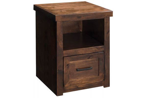 Large image of Legends Furniture Sausalito Collection One Drawer File Cabinet - SL6805-WKY