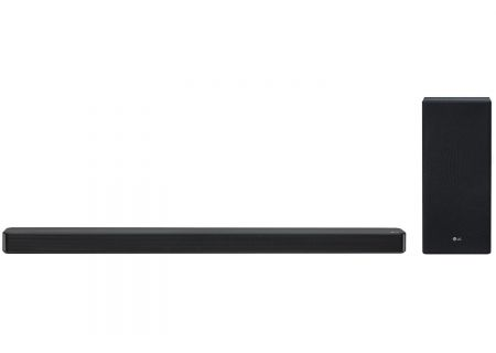 LG Black 3.1 Channel Sound Bar With DTS Virtual:X - SL6Y