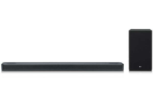 LG Black 3.1.2 Channel Sound Bar With Meridian Technology & Dolby Atmos - SL8YG