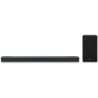 LG Black 3.1.2 Channel Sound Bar With Meridian Technology & Dolby Atmos