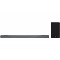 LG Black 4.1.2 Channel Sound Bar With Meridian Technology & Dolby Atmos