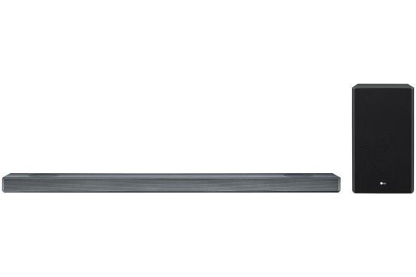 LG Black 4.1.2 Channel Sound Bar With Meridian Technology & Dolby Atmos - SL9YG
