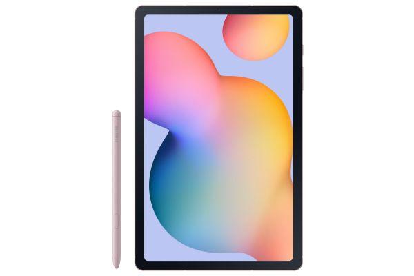 "Large image of Samsung Galaxy Tab S6 Lite 10.4"" 64GB Chiffon Rose Tablet - SM-P610NZIAXAR"