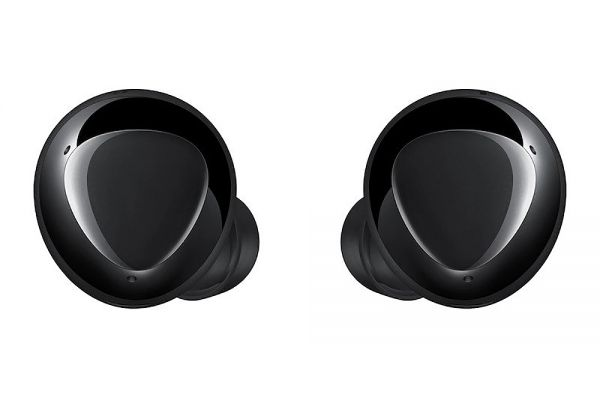 Large image of Samsung Galaxy Buds+ Black True Wireless Earbuds - SM-R175NZKAXAR