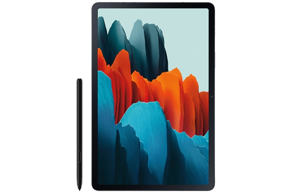 "Large image of Samsung Galaxy Tab S7 Wi-Fi 11"" 256GB Mystic Black Tablet - SM-T870NZKEXAR"